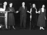 Alsace-Lituanie, octobre 1994, spectacle-concert à Kaunas, Jean-Marie Hummel, Birute Straksiene, Algis Taruta, Liselotte Hamm, Violeta Girniuviene