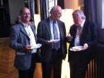 Alsace-Lituanie, 02.07.2013, Strasbourg, Uwe Hecht, Philippe Edel et Vytautas Landsbergis