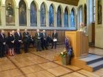 Francfort, Semaine Alsacienne, 11.09.2013, André Fricker, M-Reine Fischer, Uwe Becker, Maurice Gourdault-Montagne, Lothar Stapf, M.Voss
