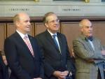 Francfort, Semaine Alsacienne, 11.09.2013, Uwe Becker, Maurice Gourdault-Montagne, André Fricker