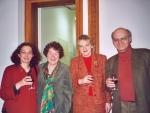 Alsace-Lituanie, 02.02.2003, Paris, Liudmila Edel-Matuolis, Janine Kaspar, Asta Skaisgiryté-Liauskiené et Philippe Edel