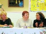 Alsace-Lituanie, 07.09.2007 à Mulhouse, Caroline Paliulis, Vanda Juknaite et Liudmila Edel-Matuolis