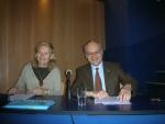 Alsace-Lituanie, 16.06.2008, colloque à Vilnius avec Caroline Paliulis et Philippe Edel