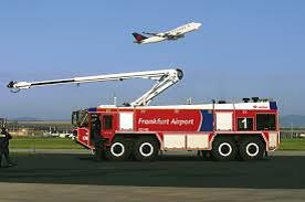 Francfort Visite Caserne Pompiers Aéroport
