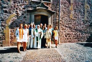 Alsace Lituanie AG 29 septembre 2001 Issenheim