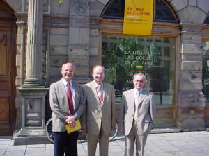 Alsace Lituanie 2004 Strasbourg Philippe Edel Ceslovas Jursenas et Neris Germanas