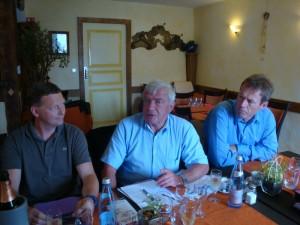 Comité directeur 24 août 2012 Pfaffenhoffen Dominique Mathern JM Ditner JP Balmer