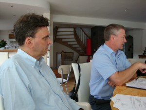 UIA Rosheim 15 juin 2012 reunion du comite Directeur Bertrand Herberich Gerard Staedel