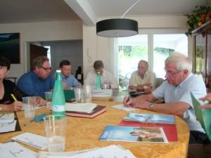 UIA Rosheim 15 juin 2012 Reunion comite dir M. Muller G. Kientz D. Mathern JP Balmer A. Clauss JM Ditner
