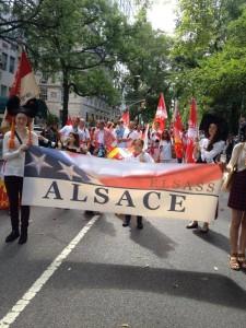 Alsace Pride on fifth avenue New-York le 21 septembre 2013