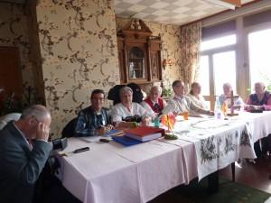 Comité de l'association des alsaciens et lorrains au Pays du Leman, Annemasse le 16 mars 2014