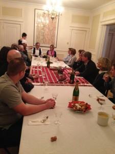 AAQR Quebec, 10.01.17, lancement, René Vogel, Isabelle Zenner, Laurence Haguenauer Consul de France 2
